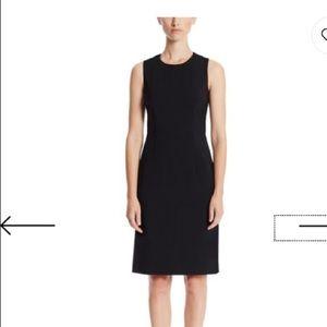 Hugo Boss Dirusa Stretch Virgin Wool Dress Black 4